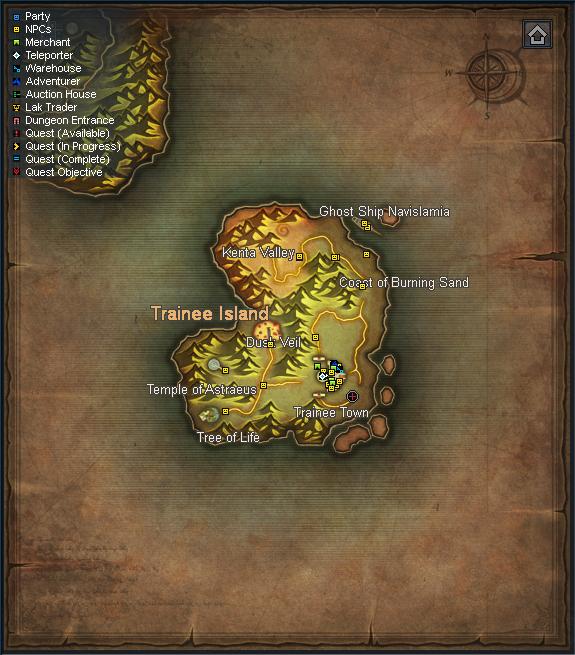 Trainee Island