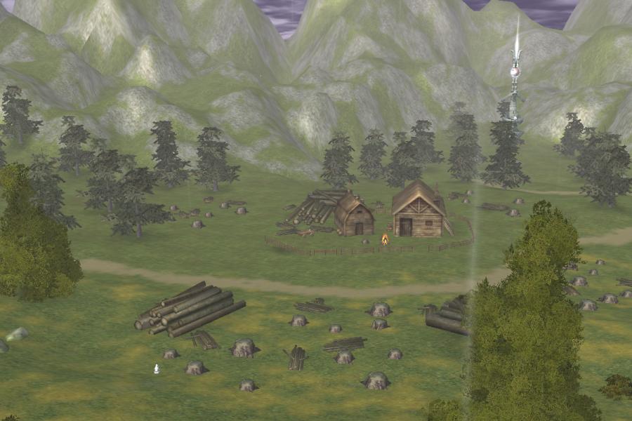 Stump Logging Area