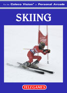 Skiing Colecovision