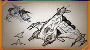 Warship concept art