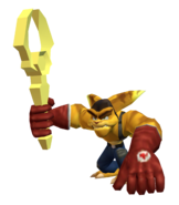 Ratchet clone (wrench) render