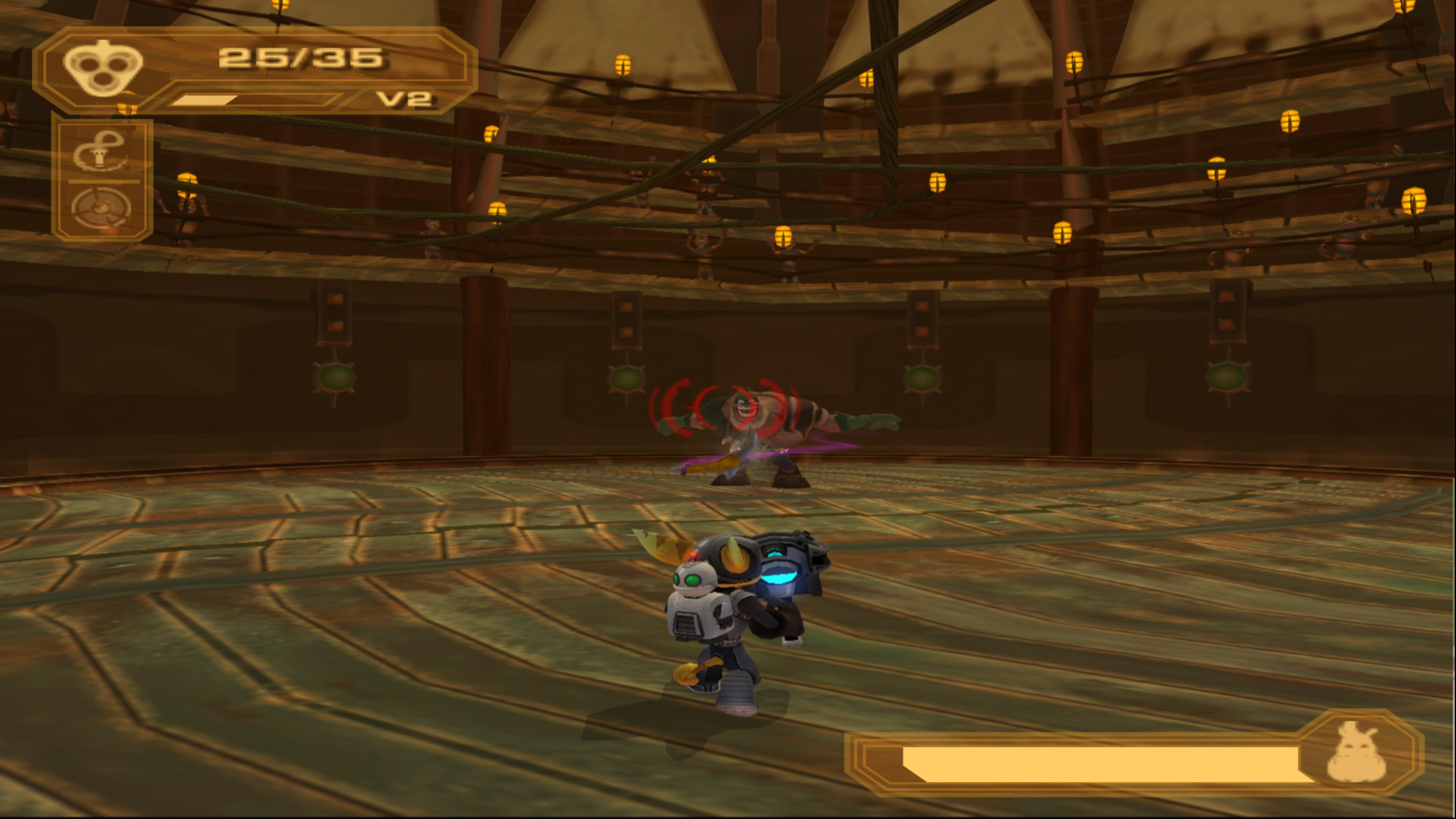 Defeat Captain Qwark