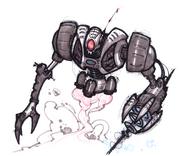 Megacorp Robot Guard concept art.png
