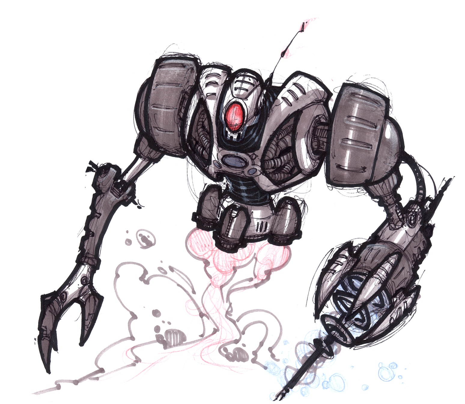 Megacorp Robot Guard