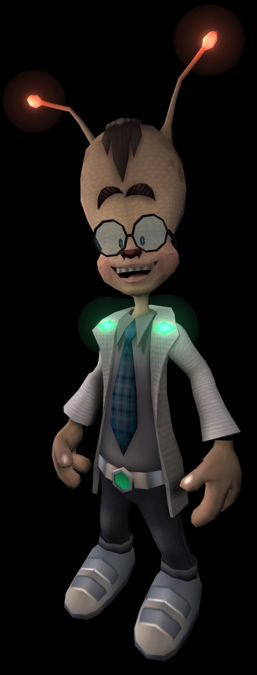Megacorp Scientist