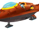 Qwark's tour shuttle