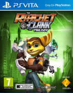 Ratchet & Clank Collection front cover (Vita) (EU)