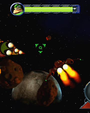 Shoot down Captain Qwark gameplay.png