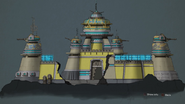 Fort Krontos from R&C (2016) concept art 1