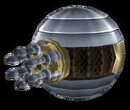 Gatling turret render