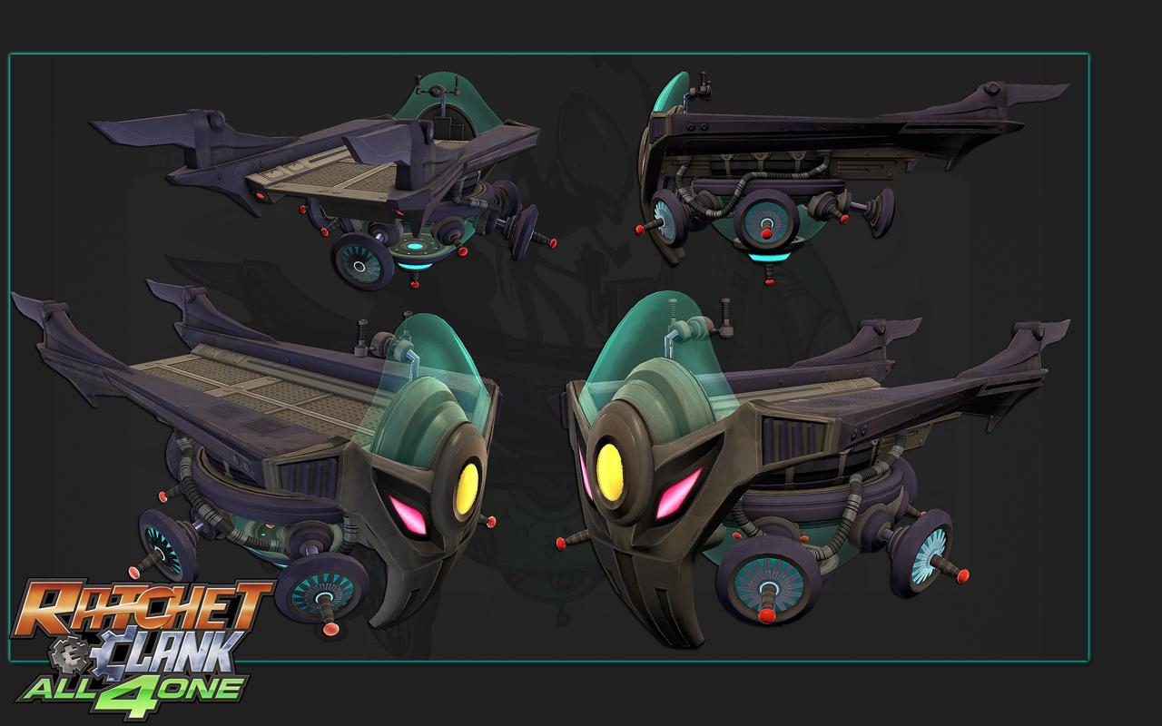 Nefarious's hovercraft