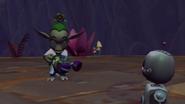 Professor Sprout cutscene