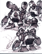 Giant Clank from R&C (2002) concept art