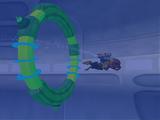 Swim through the water tanker