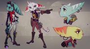 Rivet Concept Art 4 (The Art of Ratchet & Clank Rift Apart)