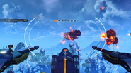 Destroy the battleships gameplay