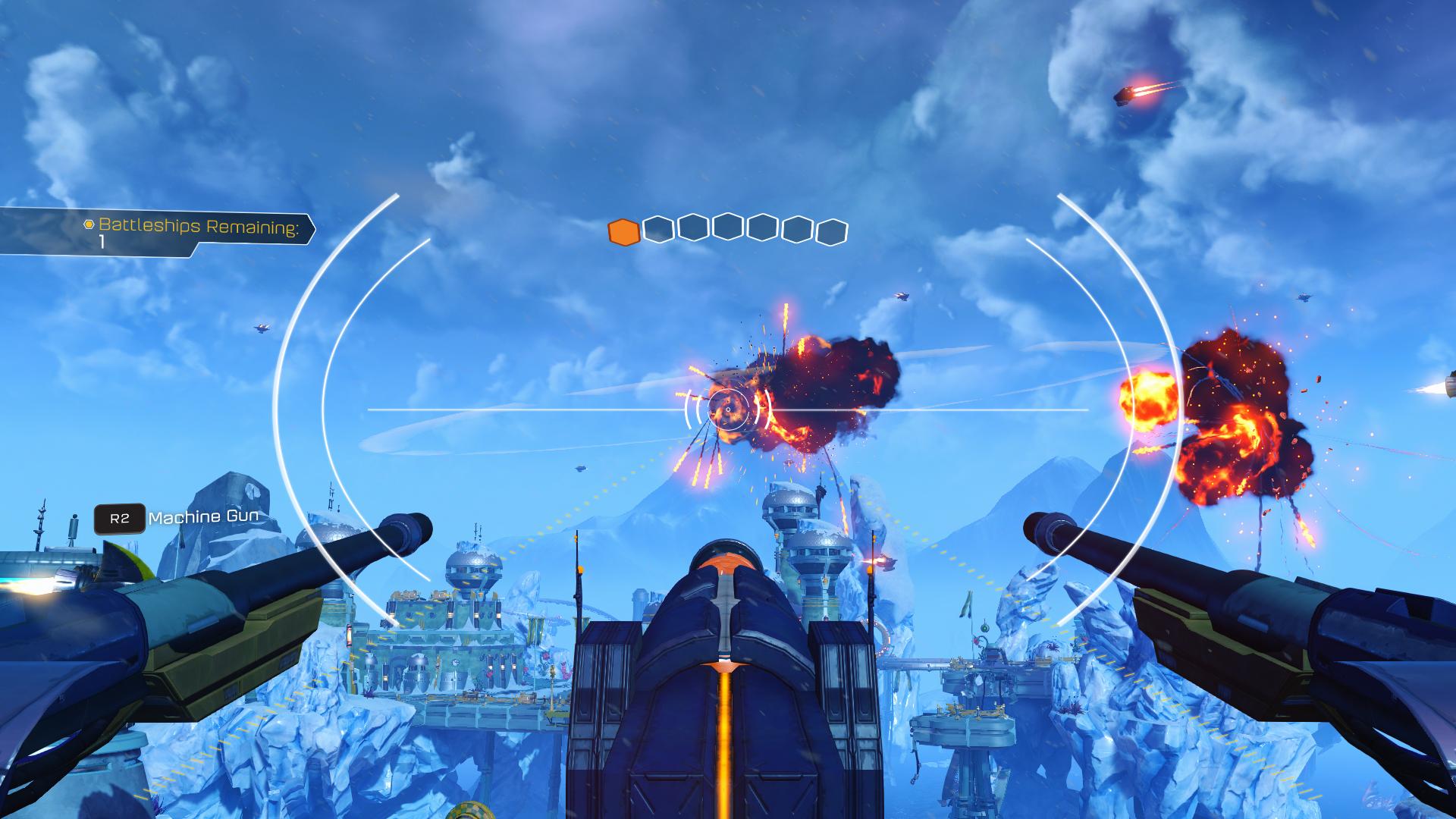 Destroy the battleships