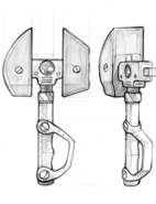 Omniwrench from R&C (2002) concept art