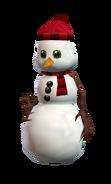 Snowman skin from SM render