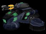 Megacorp Hover Tank v2.0 render