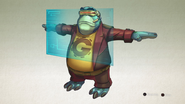 Moby from R&C (2016) concept art
