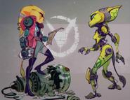 Rivet Concept Art 3 (The Art of Ratchet & Clank Rift Apart)