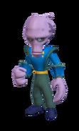 Otto Destruct skin render