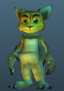 Kanga-Ratchet skin screen