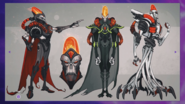 Emperor Nefarious early designs