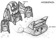 Hydro-Pack concept art