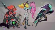 Rivet Concept Art 5 (The Art of Ratchet & Clank Rift Apart)