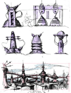 Oltanis from R&C (2002) concept art
