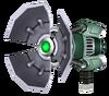 Refractor render