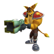 Ratchet clone (shotgun) render