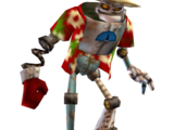 Old training robot