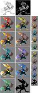 Ratchet concept art color test