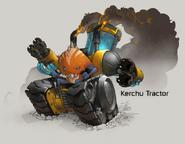 Kerchu tractor concept art