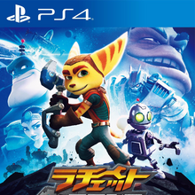 Ratchet & Clank (2016 game) front cover (JP).png