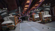 Warship interior from R&C (2016) concept art