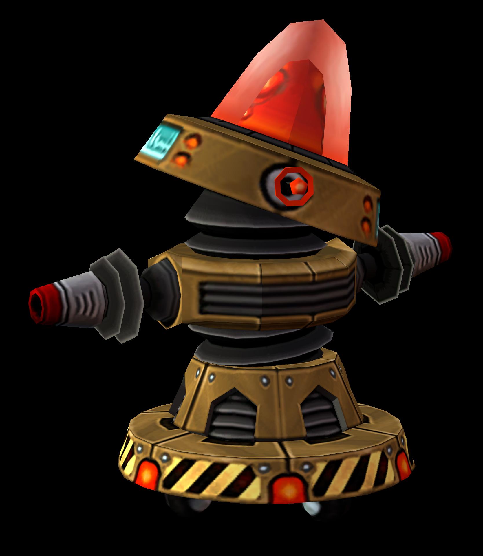 Megacorp Laser Bot