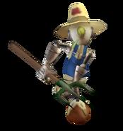 Robot farmer render
