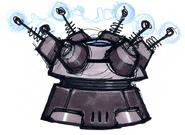 Megacorp Security Turret concept art