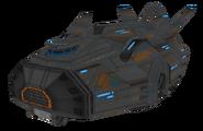 Galactic Rangers dropship render