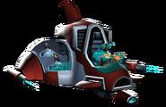 Tyhrranoid attack ship promo render