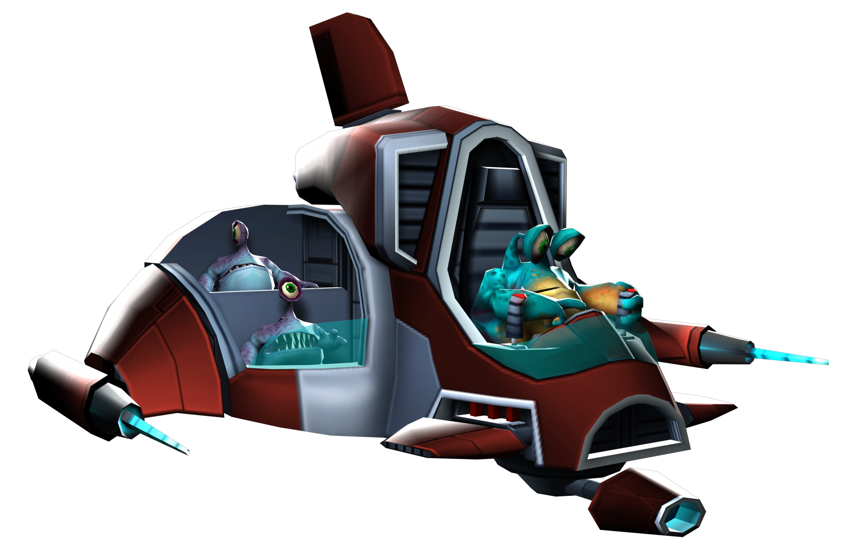Tyhrranoid attack ship