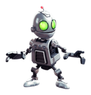 Clank from R&C (2016) render