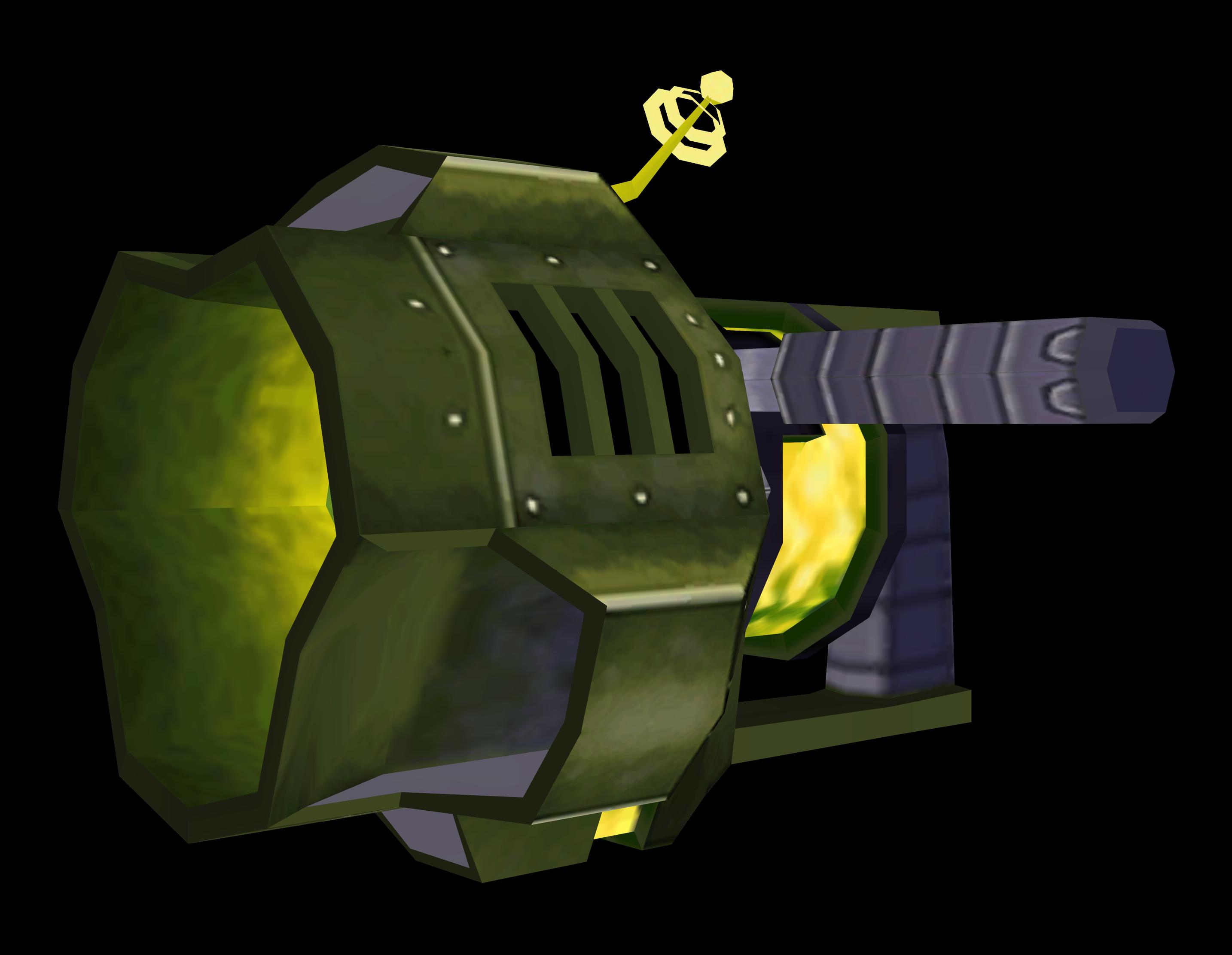 Hoverbomb Gun