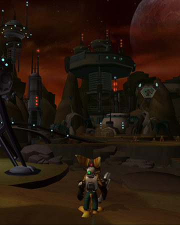 Save Ratchet's planet gameplay.png