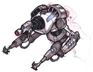 Megacorp Rivet Bot concept art