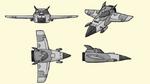 Technomite ship 1 concept art